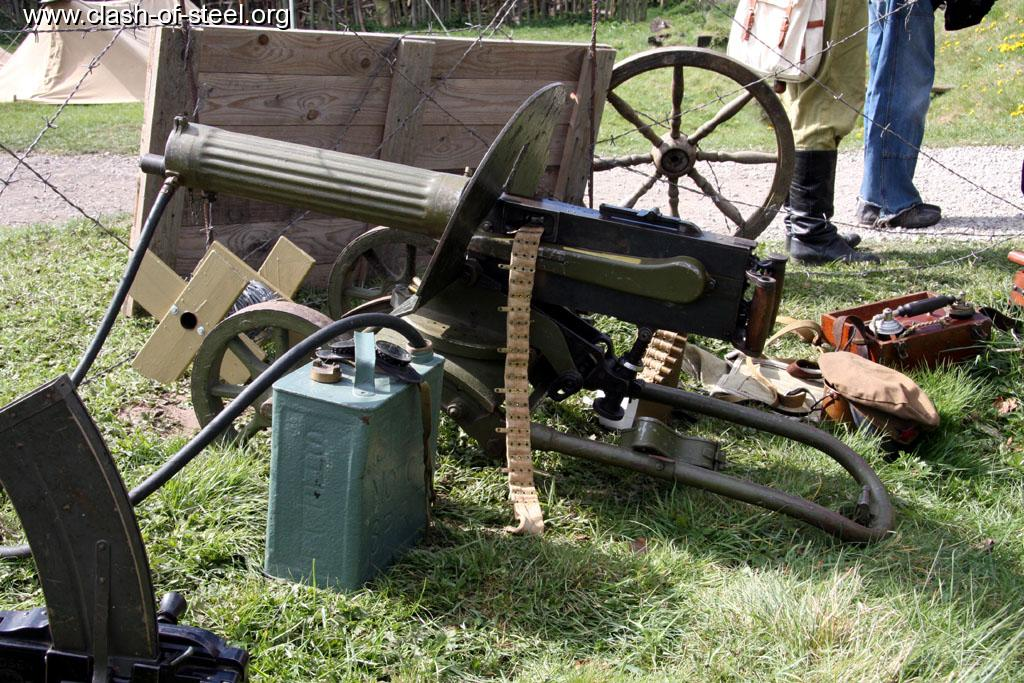 Machine Guns World War 1 World War 1 Russian Maxim