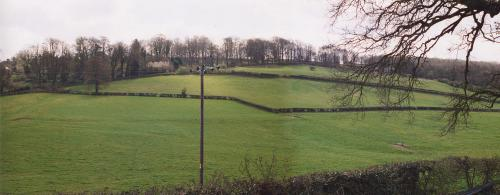 Battle of Lansdown Hill, Waller's first position