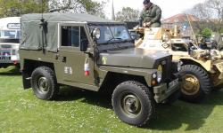 Lightweight, air portable Land Rover