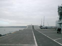 Ark Royal, Flight Deck looking forward