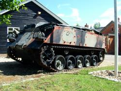 British FV432 armoured personnel carrier