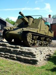 Sexton, 25lbr Self-propelled Gun, 1945