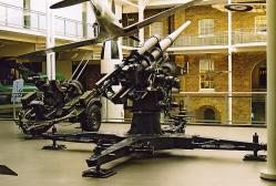 German 88mm Anti-Aircraft Gun and Argentine 20mm AA gun