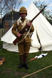 British soldier of the Boer War - stand to!