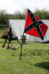 Civil War southern camp