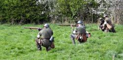 Scenes from a battle re-enactment. - MUR3_battle1