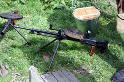 WW2 Russian 13th Guards - Light machine gun