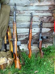 Russian WW2 personal weapons