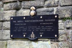 Northumberland Fusiliers - 4th and 8th Battalion Second World War Memorial