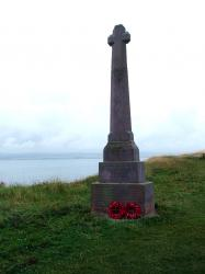 Lindesfarne War Memorial, on Holy Island