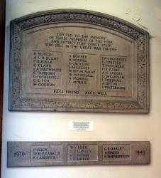 York Post Office War Memorial.