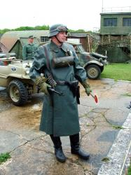 A Panzergrenadier of the 21st Panzer Rgt.