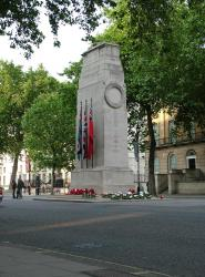 The Cenotaph, London.