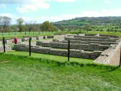 Chesters Roman Fort, Barrack block