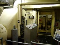 Inside Yorks Cold War Bunker - generator and air pumps