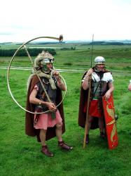 Roman Cornicen and Legionary