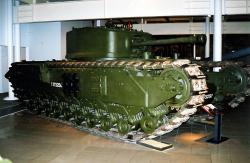 British Churchill Mk VII Tank