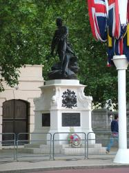 The Royal Marines Monument, London